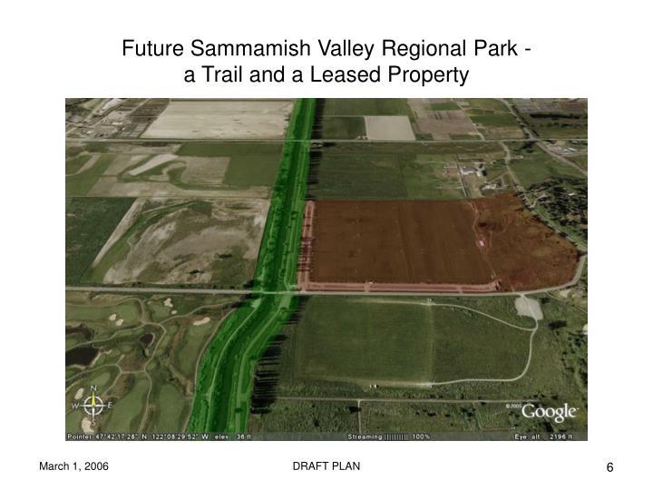 Future Sammamish Valley Regional Park -
