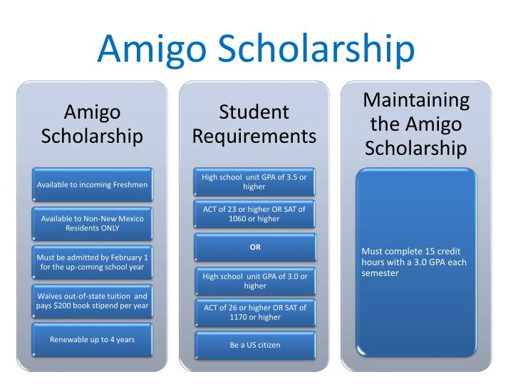 Amigo Scholarship