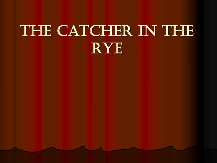 catcher in the rye holdens relationship with