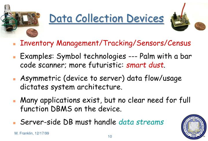 Data Collection Devices