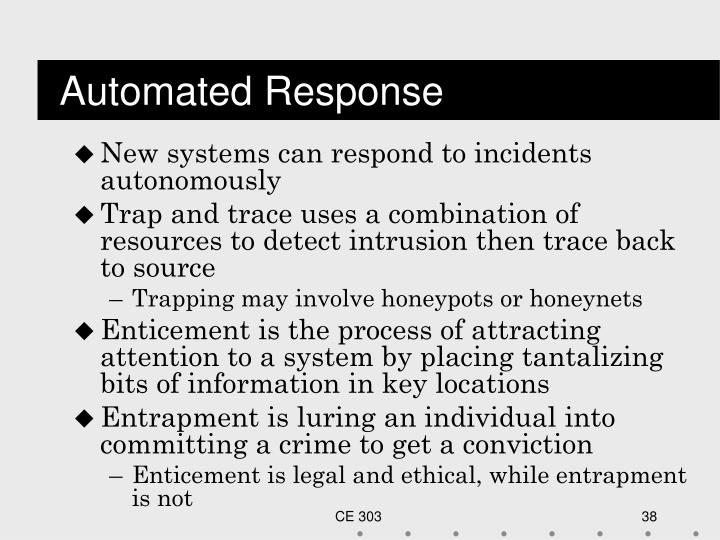 Automated Response