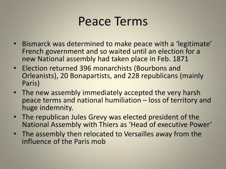 Peace Terms