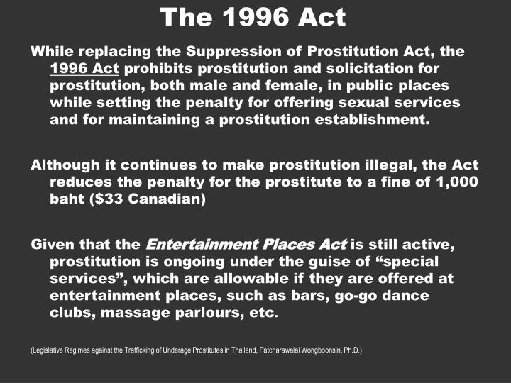 The 1996 Act