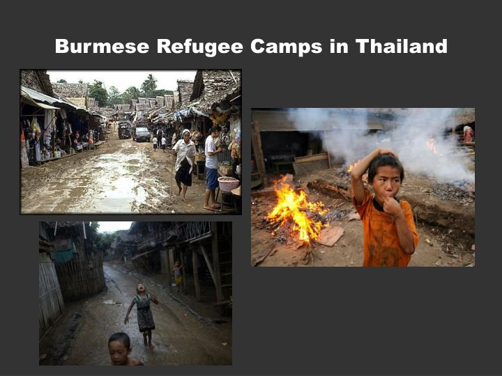 Burmese Refugee Camps in Thailand
