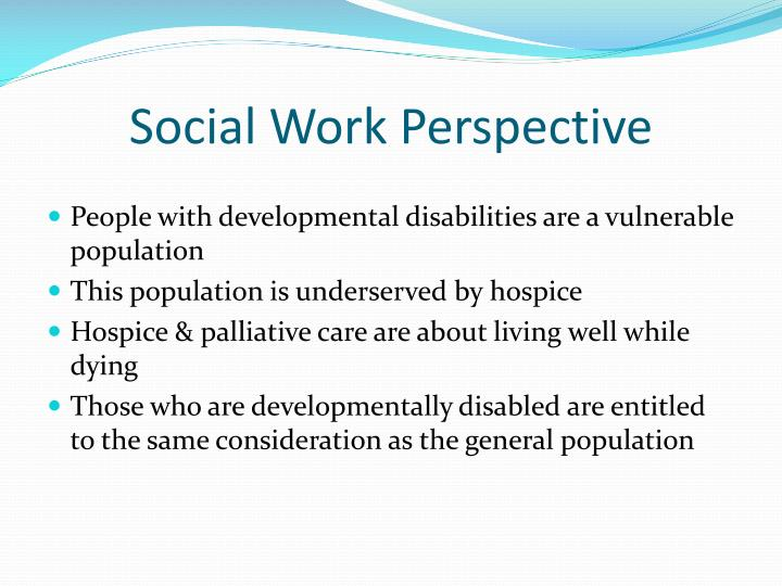 Social Work Perspective