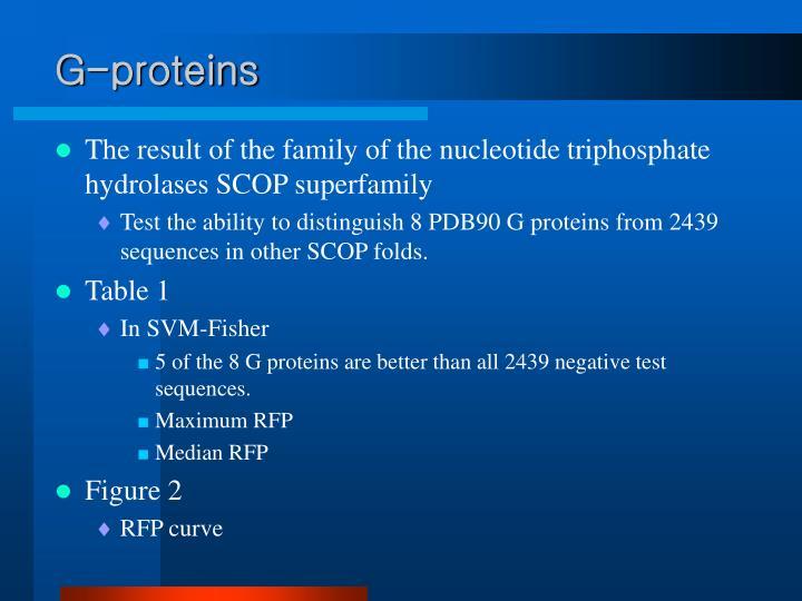 G-proteins