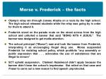 morse v frederick the facts