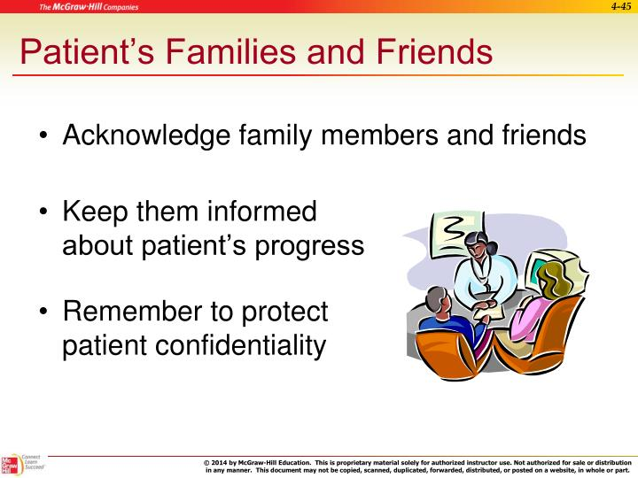Patient's Families and Friends