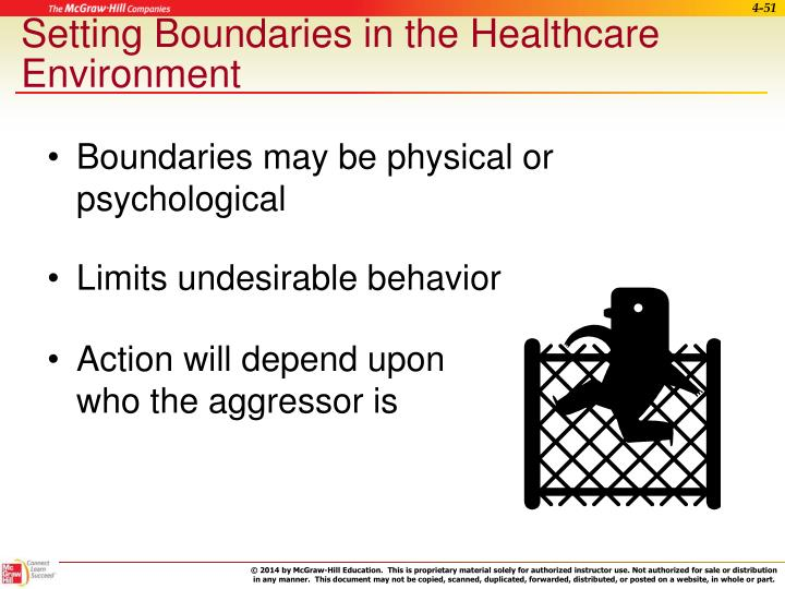 Setting Boundaries in the Healthcare Environment