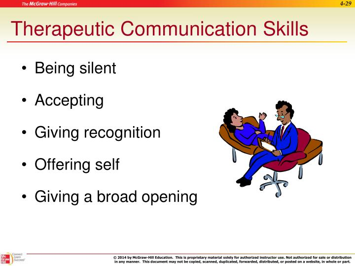 Therapeutic Communication Skills