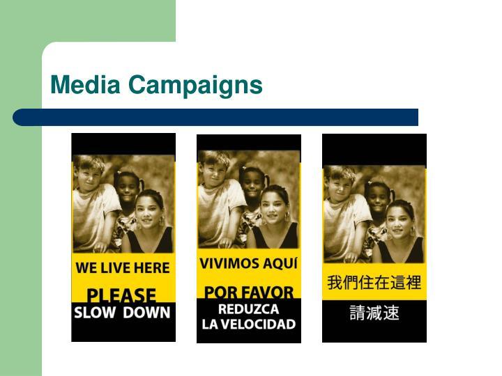 Media Campaigns