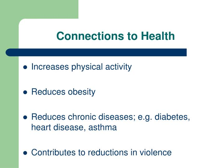 Connections to Health