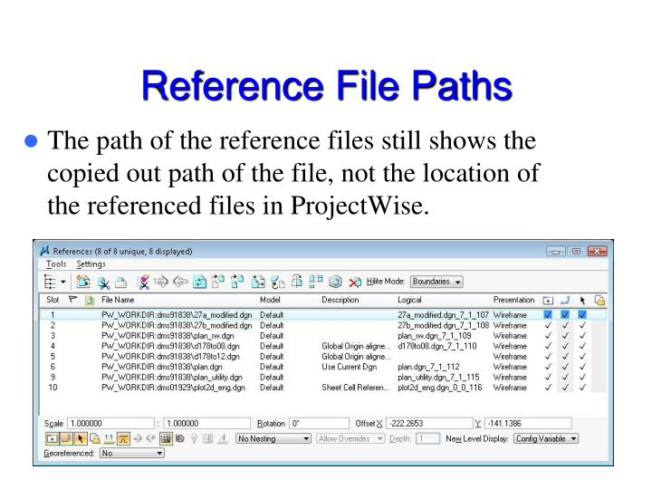 Reference File Paths