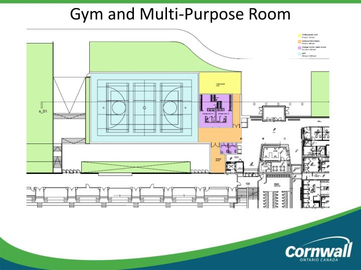 Ppt city of cornwall update to various infrastructure