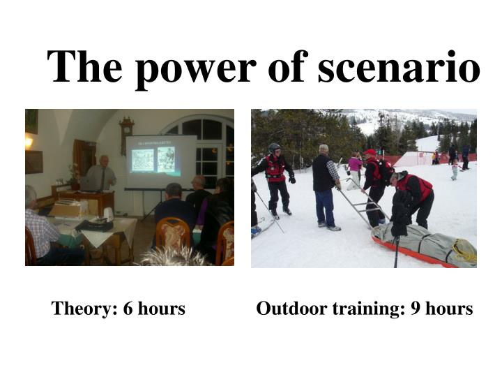 The power of scenario