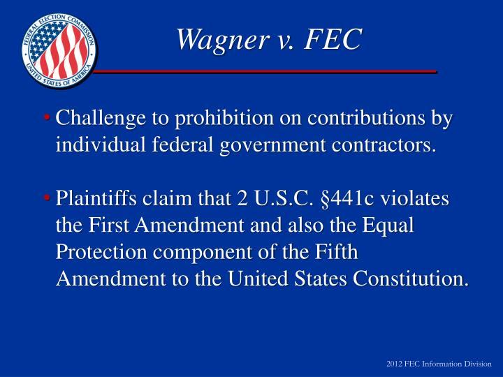 Wagner v. FEC
