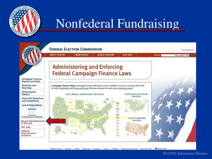 Nonfederal Fundraising