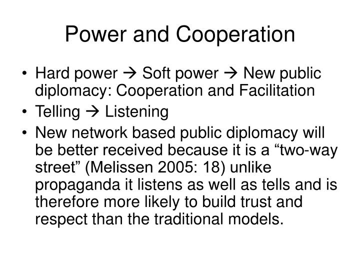 Power and Cooperation