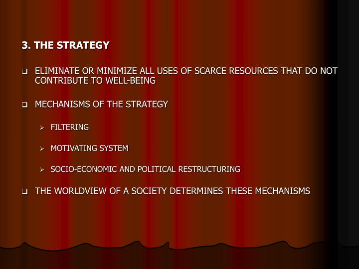 3. THE STRATEGY