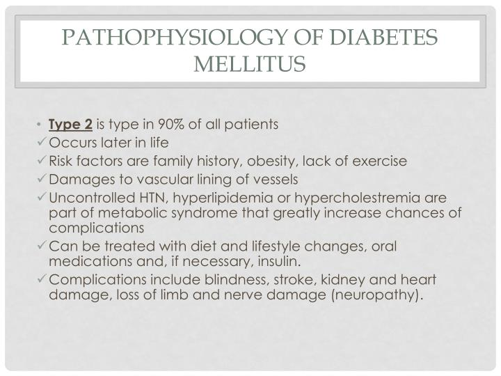 Pathophysiology of Diabetes Mellitus