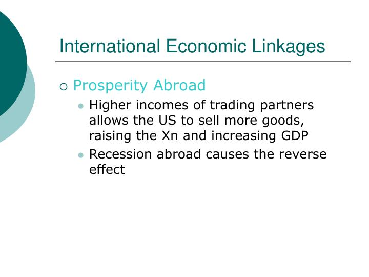 International Economic Linkages