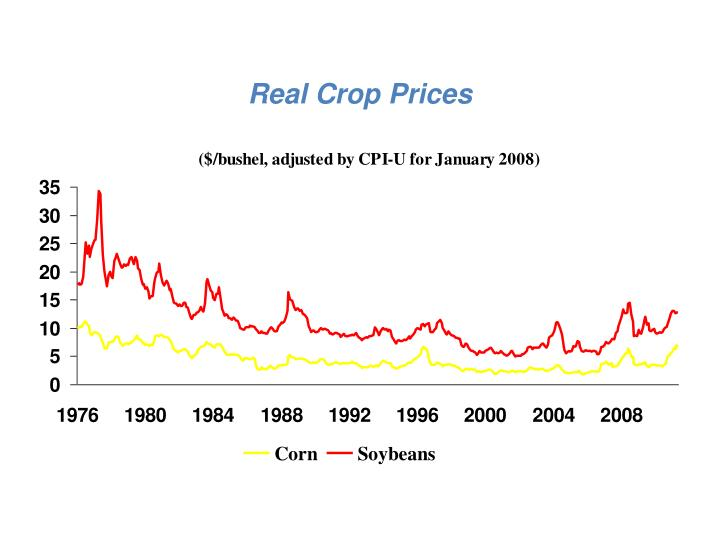 Real Crop Prices