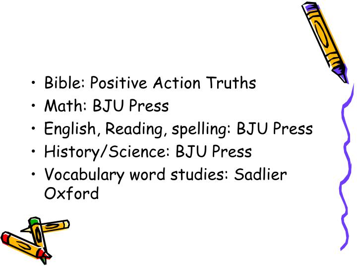Bible: Positive Action Truths