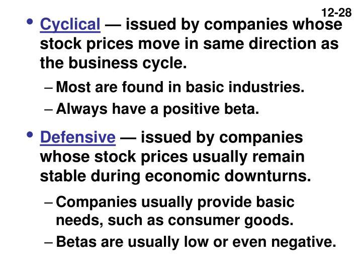 Cyclical