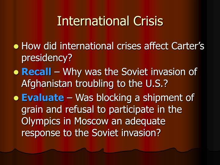 International Crisis