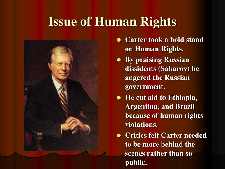Issue of Human Rights