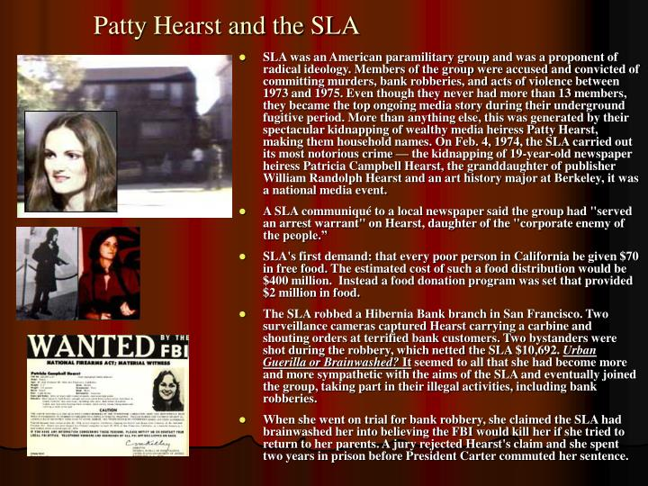Patty Hearst and the SLA