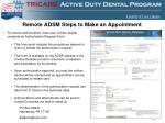 remote adsm steps to make an appointment1