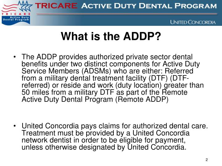 What is the ADDP?