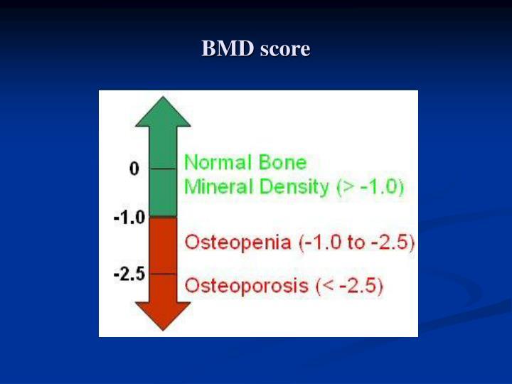 BMD score