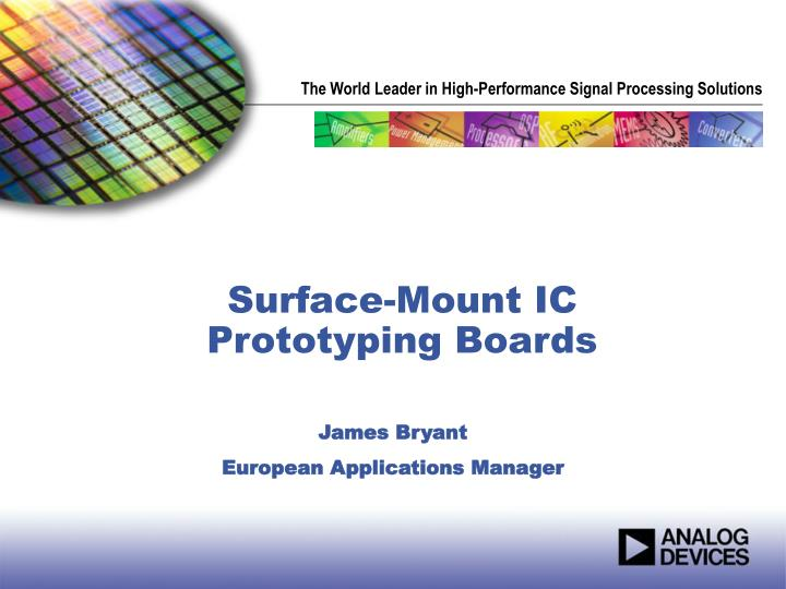 surface mount ic prototyping boards
