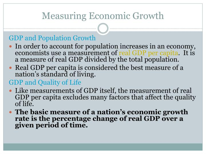 why gdp is an inappropriate measure of economic health essay Examine the role of gdp figures as a measure of economic development (15) gdp measures like health, education and transport higher gdp may or economic.