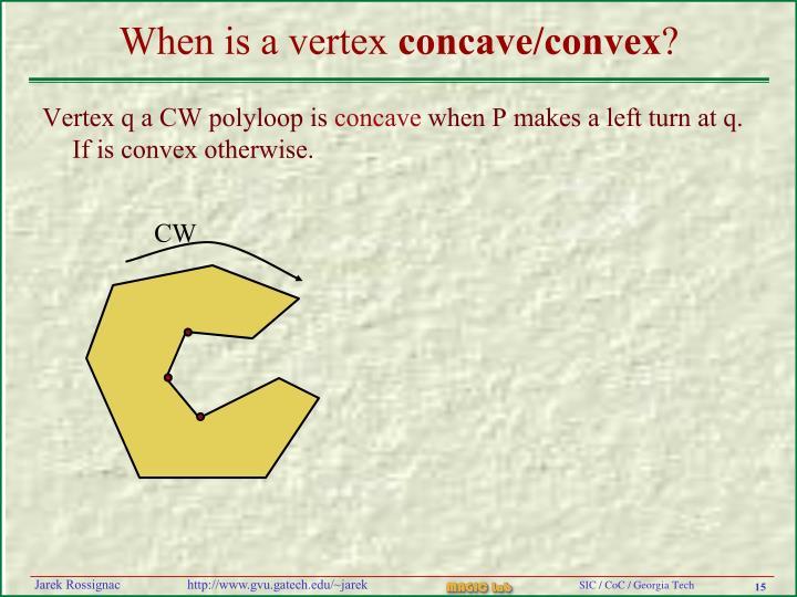 When is a vertex