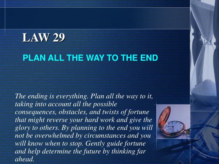 LAW 29