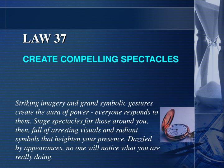 LAW 37