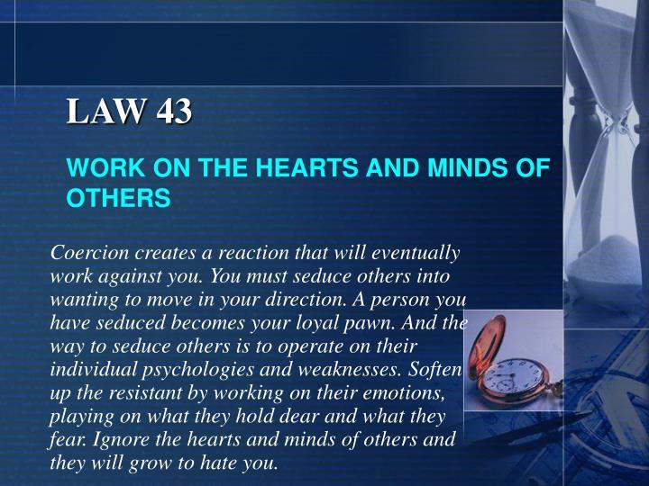 LAW 43
