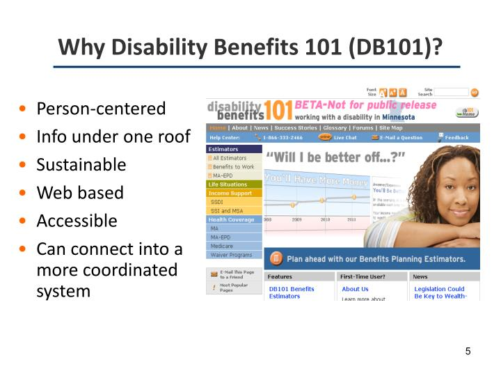 Why Disability Benefits 101 (DB101)?