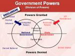 government powers division of powers9