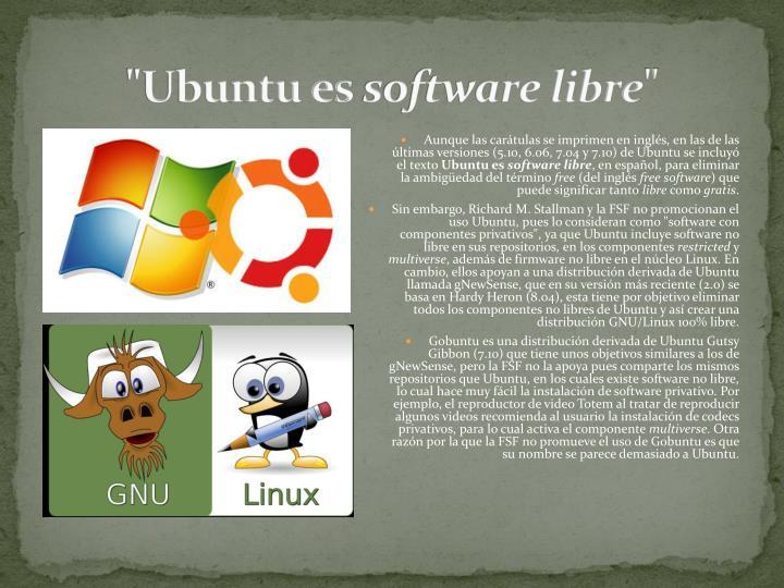 """""""Ubuntu es"""