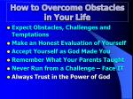 how to overcome obstacles in your life6