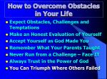 how to overcome obstacles in your life7