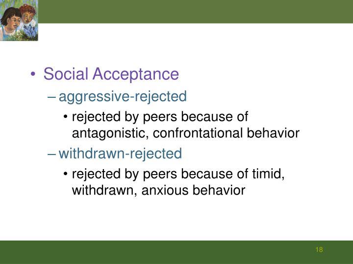 Social Acceptance