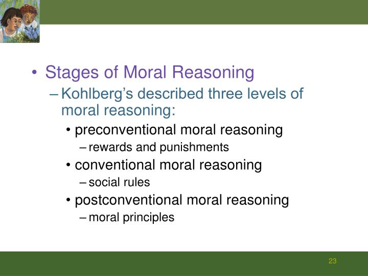 Stages of Moral Reasoning