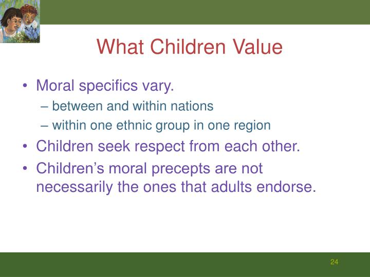 What Children Value