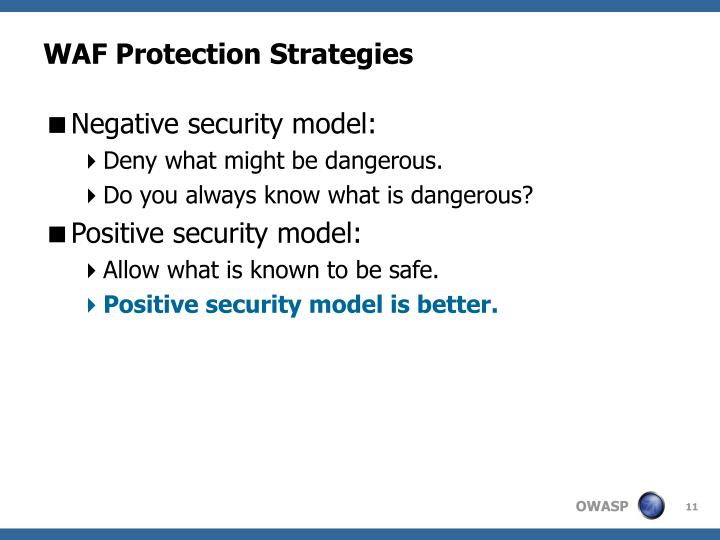 WAF Protection Strategies