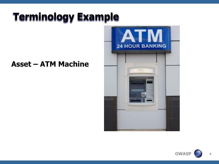 Terminology Example